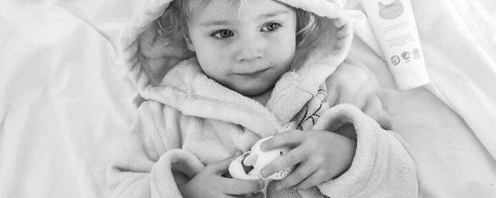 Kløe og irritasjon på huden til små barn