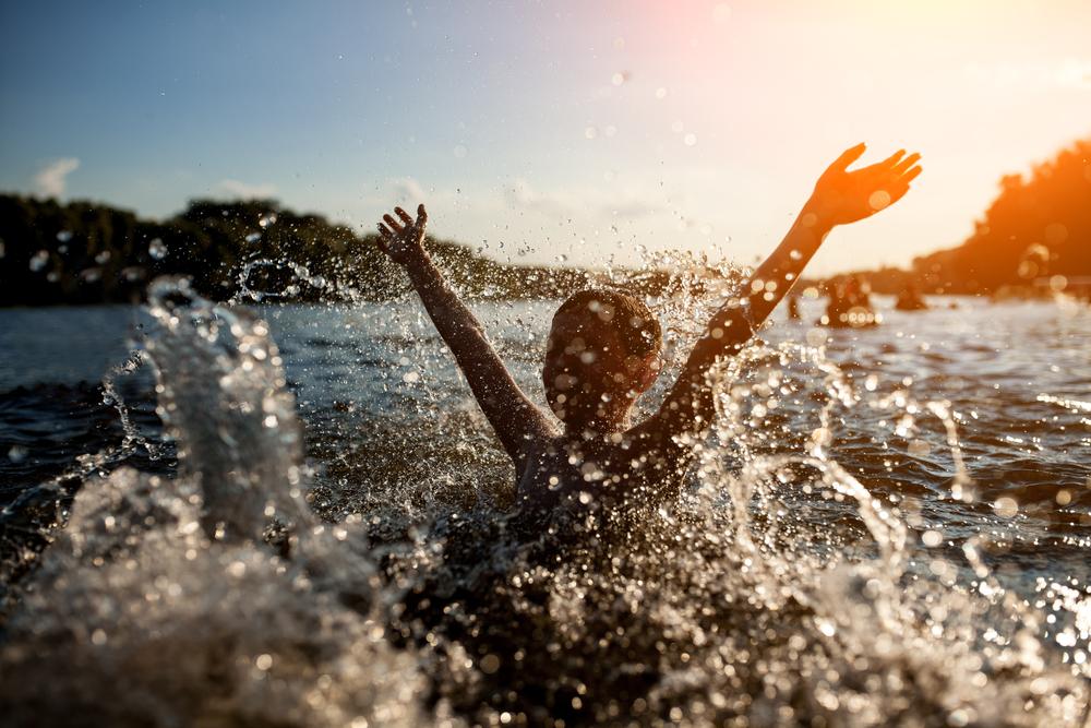God dusjolje ved tørr hud og bading